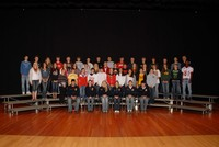 FFA Group photo on the stage.