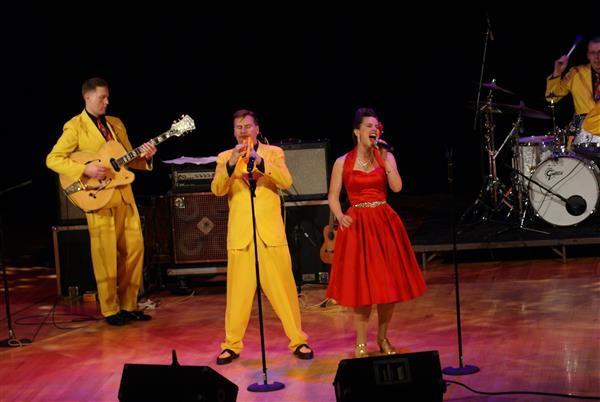 Jump, Jive & Wail featuring The Jive Aces