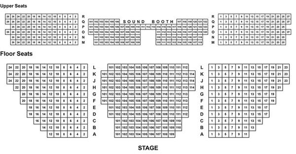 Epac Seating Chart Layout of seats.