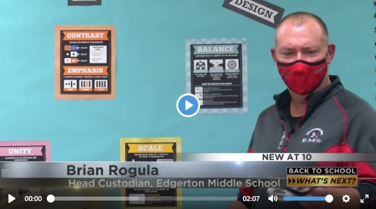 ESD in the News: Going inside Edgerton schools during in-person learning