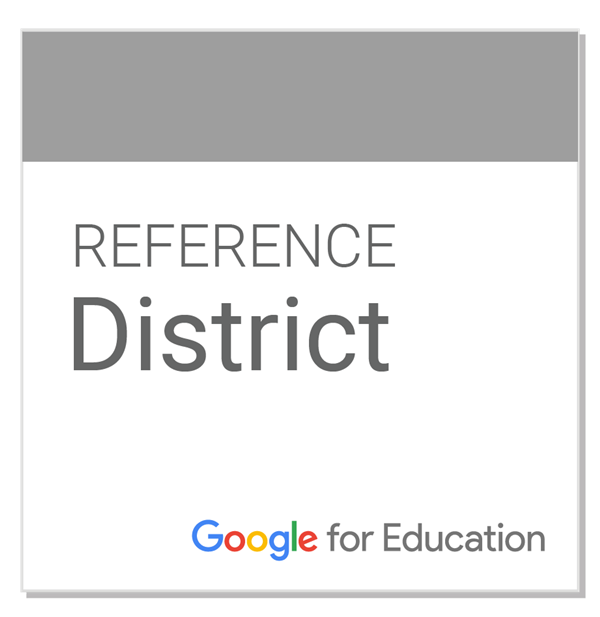 Google for Education Reference District Badge